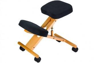 Jobri Accent Wood : la chaise ergonomique avec 5 roulettes pivotantes